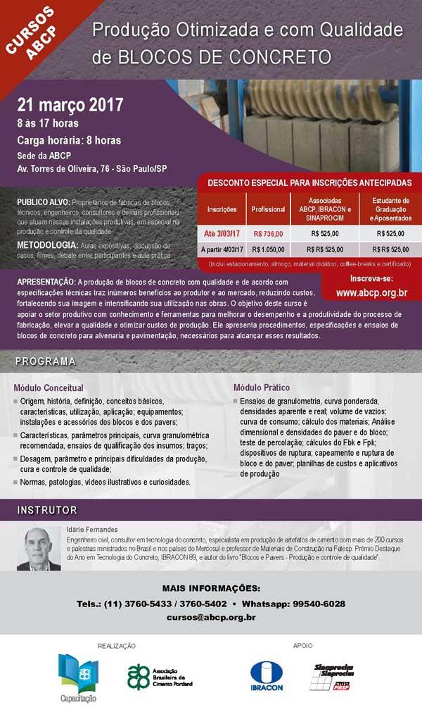São Paulo – SP | Produção Otimizada de Blocos de Concreto